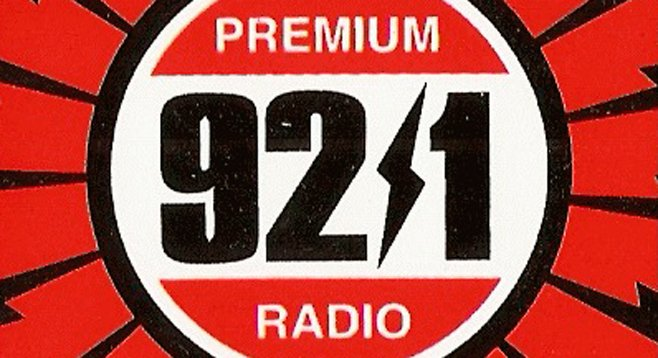 Radio stations solicited fairey designs for promo stickers