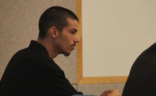 David Nevitt Kortcamp, 20, pleads not guilty.  Photo Weatherston