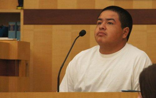Santiago Daniel Martinez testified Monday.  Photo Weatherston