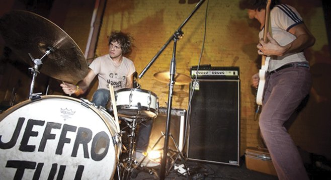 Indie-rock duo JEFF the Brotherhood delivers Hypnotic Nights to Casbah on Sunday.