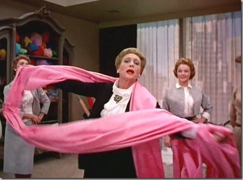 "Vreeland saw red while watching Kay Thompson's ""Think Pink"" number in Stanley Donen's ""Funny Face."""