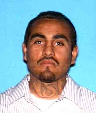 Fugitive photo released by Escondido police when Sergio Lopez ran.