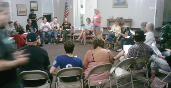 Citizens gathered for an October 3 meeting at the Ocean Beach Woman's Club.