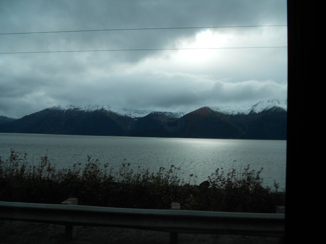 Taken along the Seward Highway outside Anchorage, Alaska.