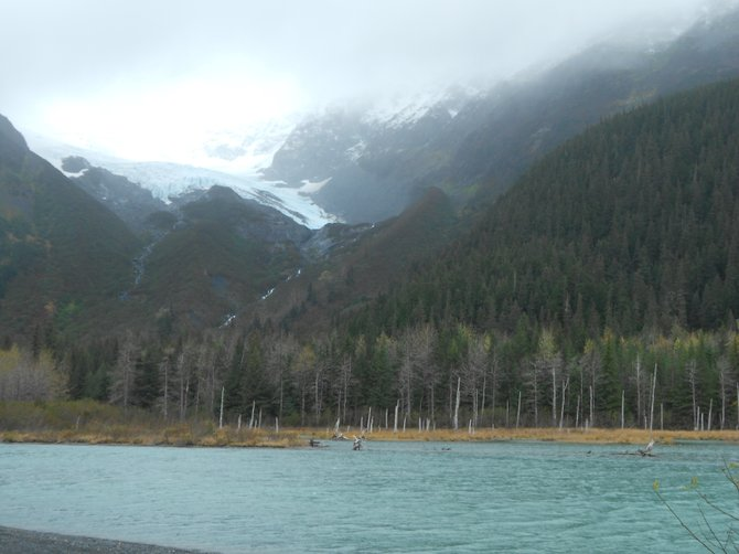 """As those boys from U2 would say, """"In God's Country,"""" Alaska."""