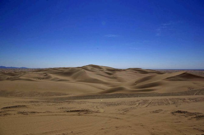 Glamis, CA. Located in the southeast corner of California, the Imperial Sand Dunes are the largest mass of sand dunes in the state.