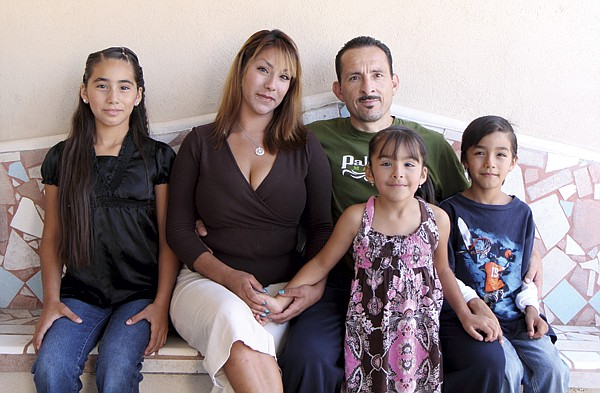 """Frank and family. """"At first, I was very angry. Now, I feel like I am in a better place with myself in Mexico."""""""