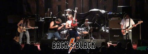 Back 2 Black continues with Ariel Levine (not pictured) in the role of Malcolm Young