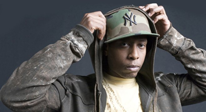 Rapper Talib Kweli will test the waters at Oceanside's Show Palace.