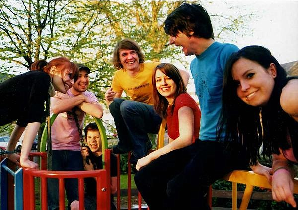 British dance-pop band Los Campesinos takes the stage at Casbah Tuesday night.