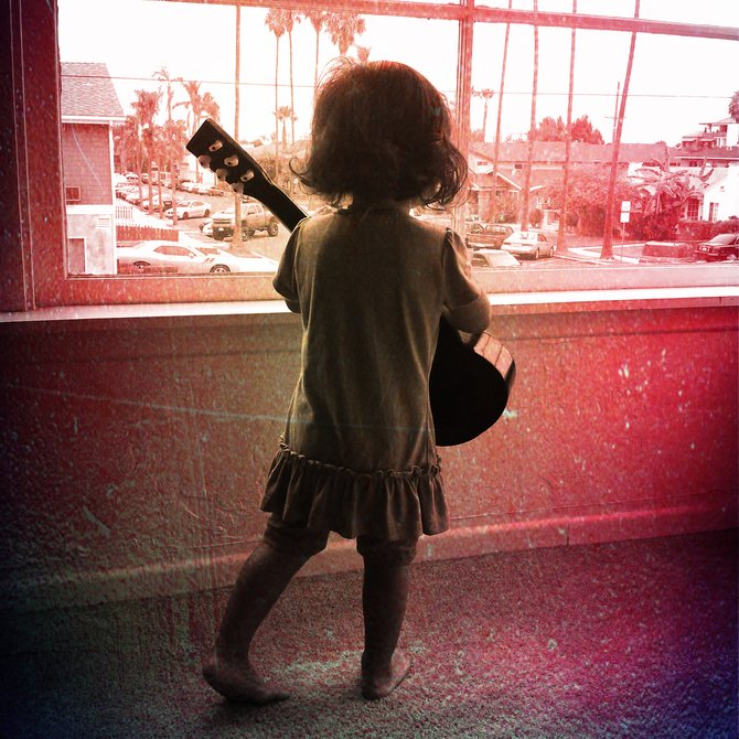"""""""The beauty of life is the unknown.""""  (My niece Phoenix Jade in North Park - San Diego, CA)"""