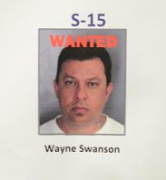 Photo of Swanson displayed by OPD.