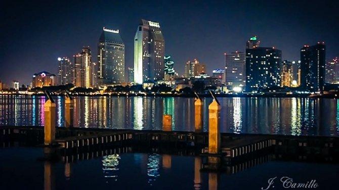 Glowing San Diego form Coronado