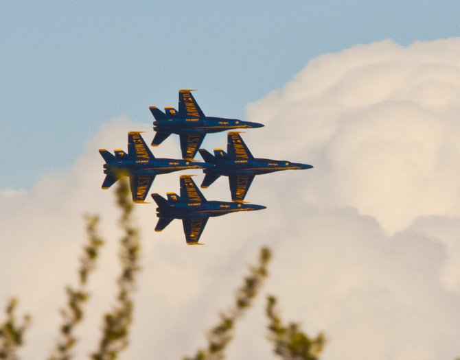 The Blue Angels in SD