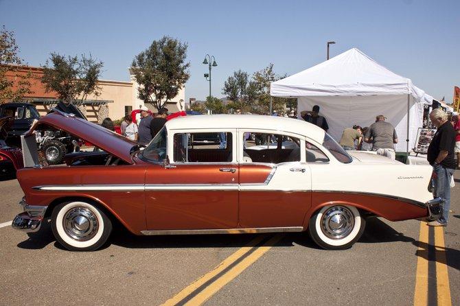 Santee Car Show, 1956 Belair.