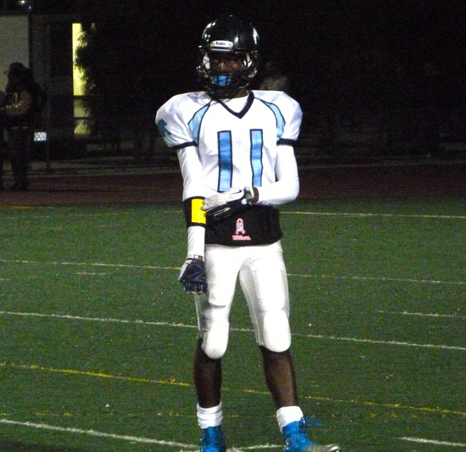 Otay Ranch junior receiver Quentin Bell