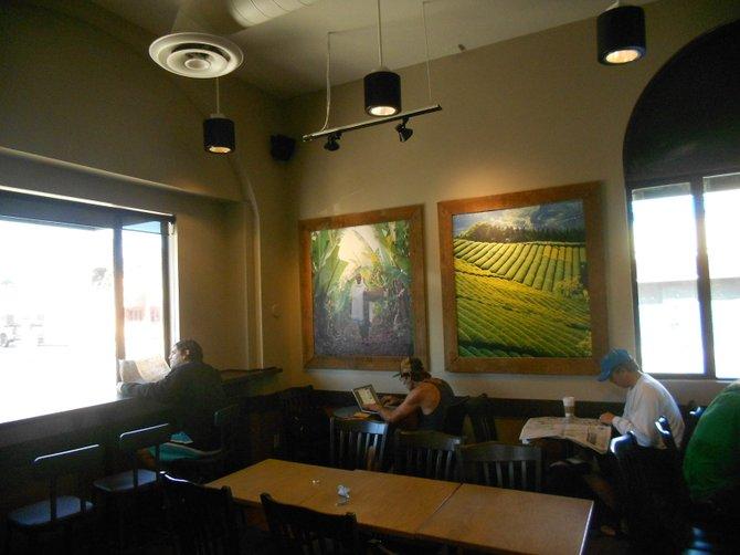 Ocean Beach Starbucks on Newport Ave.