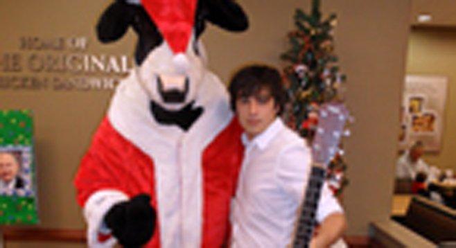"Teen singer James Morris will entertain at the ""smallish Con."""