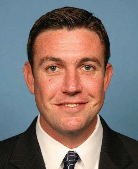 Republican Congressman Duncan D. Hunter
