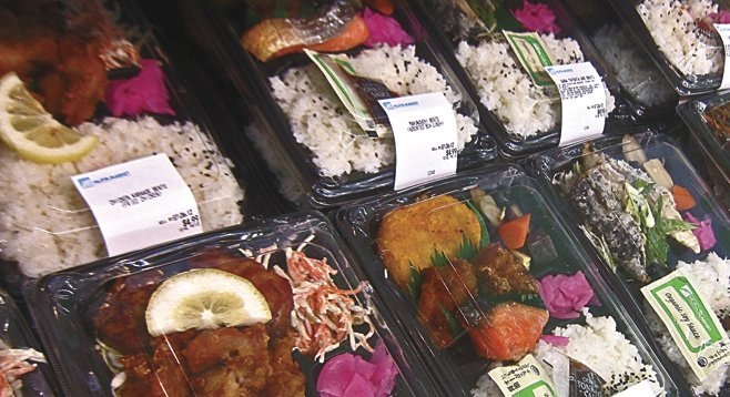 Kearny Mesa's best selection of bento boxes — a great way to grab an authentic Asian lunch on the go — is at Najiya Market.