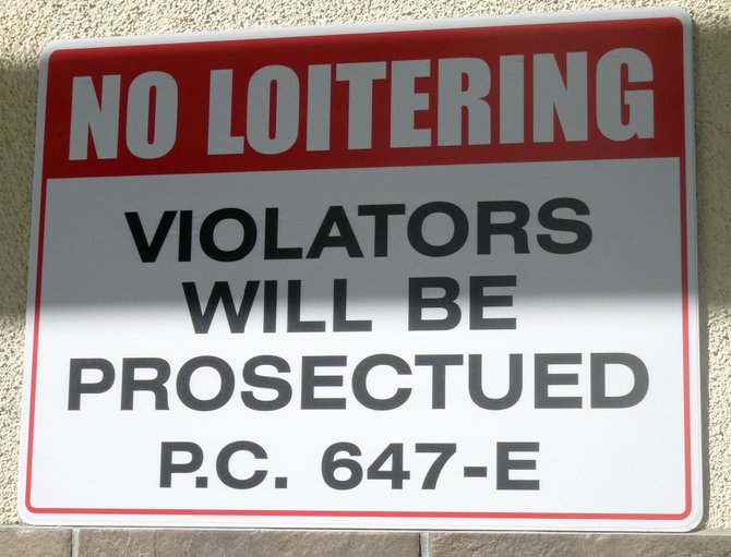 "If you loiter behind U.S. Bank on University Avenue in North Park, you will probably NOT be prosecuted according to their sign.  But you WILL be ""PROSECTUED""  for it!  Not sure what it means, though.  ;-)"