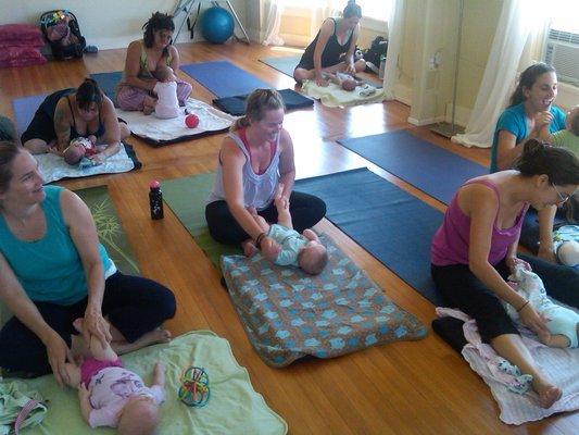 Nature's Whisper Yoga class
