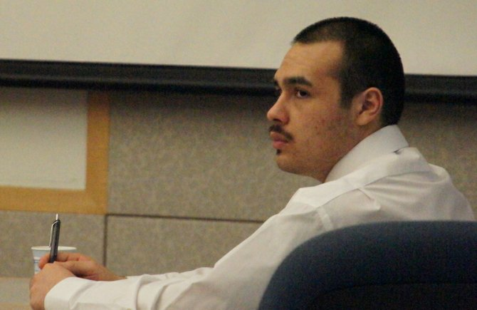 Juan Alberto Rocha was sentenced today.  Photo Weatherston.