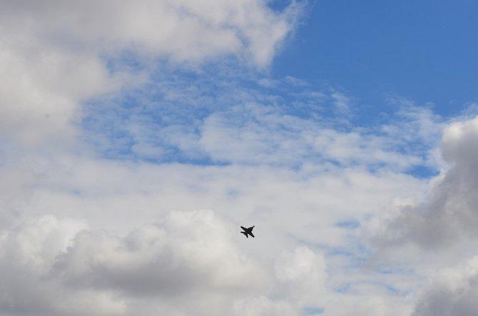 F-18 Practicing for Miramar Air Show, October, 2012   Mira Mesa