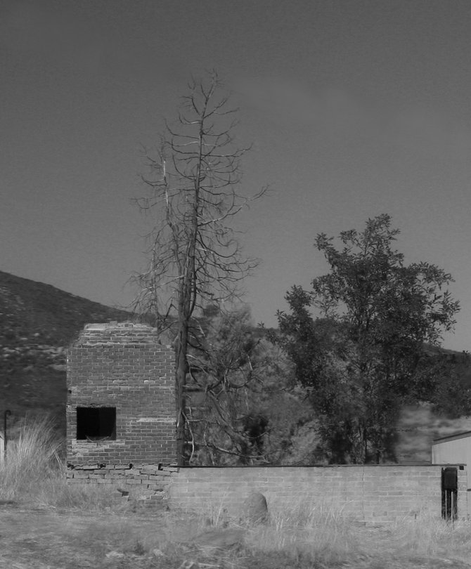 Property along the highway in Ramona