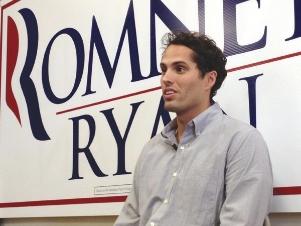 Craig Romney, Mitt's youngest son, was a California delegate for his father at the Republican Convention in Tampa Bay.
