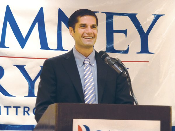 Matt Romney, Mitt's son, who currently lives in Rancho Bernardo, takes public credit for calling his part of the Romney clan to San Diego County.