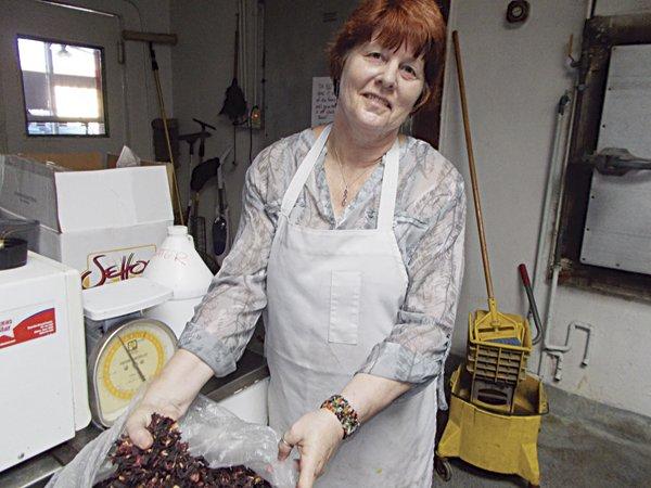 Mary Ellen in the kitchen