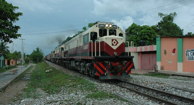 The passenger trains stop infrequently in Aracataca, Colombia, but that may soon change.