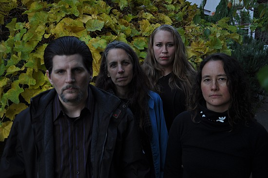 Drone-metal quartet Earth's at Soda Bar on Monday.