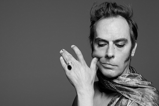 Godfather of goth Peter Murphy plays 4th&B on Wednesday.