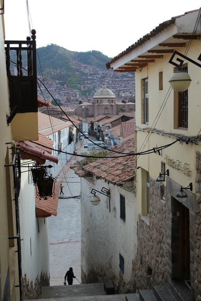 A view of Cusco from our hotel.