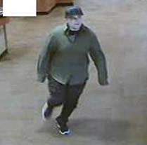 One bank surveillance photo supplied by FBI.