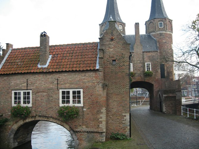 Old-World Dutch charm