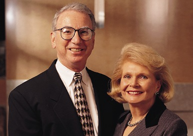 Irwin and Joan Jacobs. Source: University of California San Diego