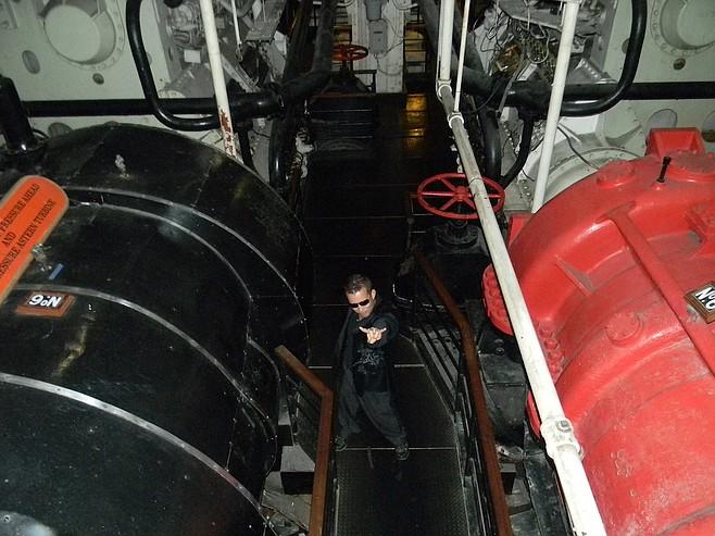 the ship's engine room (not a spirit, presumably)