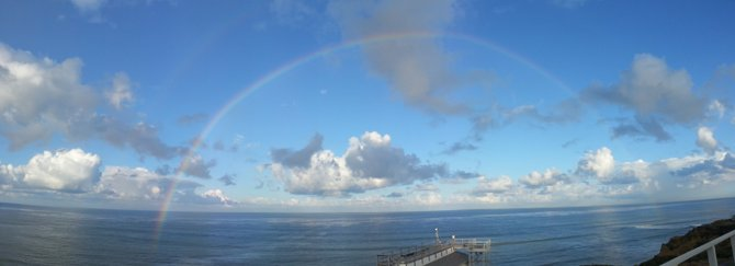 From the cliffs of Point Loma