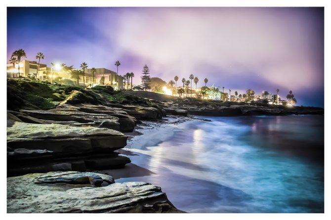 Moonlit Cove, La Jolla, Ca by Joshua Kelsey