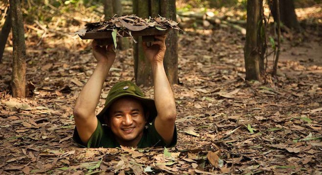 Those of us used to a more American carb- and calorie-heavy diet may not fit in Vietnam's Cu Chi Tunnels.