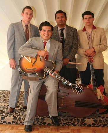 Rock-a-billy favorites, Roy Rapid & the Rhythm Rock Trio. Courtesy Photo.