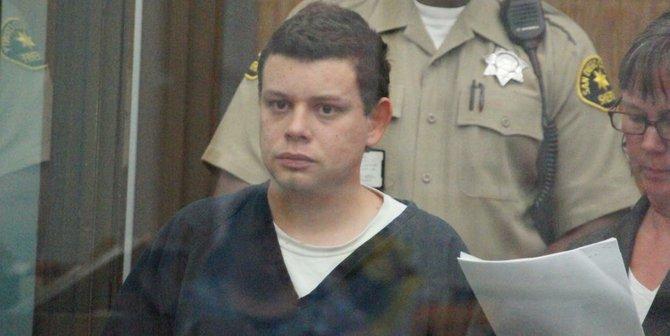 Christpher Bradley Nutt in custody.  Photo Weatherston.