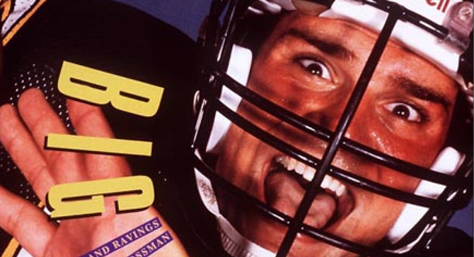 """Burt Grossman made the cover of Sports Illustrated in 1990. The story's title was """"Big Mouth: The Rantings and Ravings of San Diego's Burt Grossman"""""""
