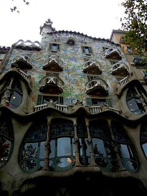 Gaudí's Casa Batlló, Barcelona
