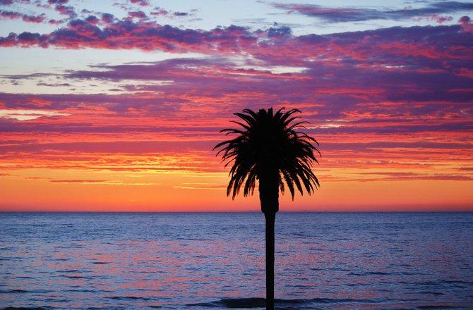 Moonlight Beach, Encintias Ca....