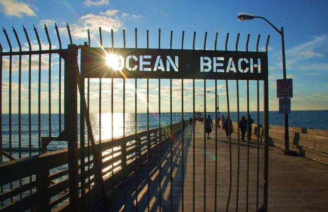 Ocean Beach Pier ....