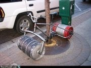 Not the way the kegs will be transported